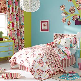 Birdhouse Curtain Collection