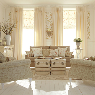 Shabby Chic Curtain Collection