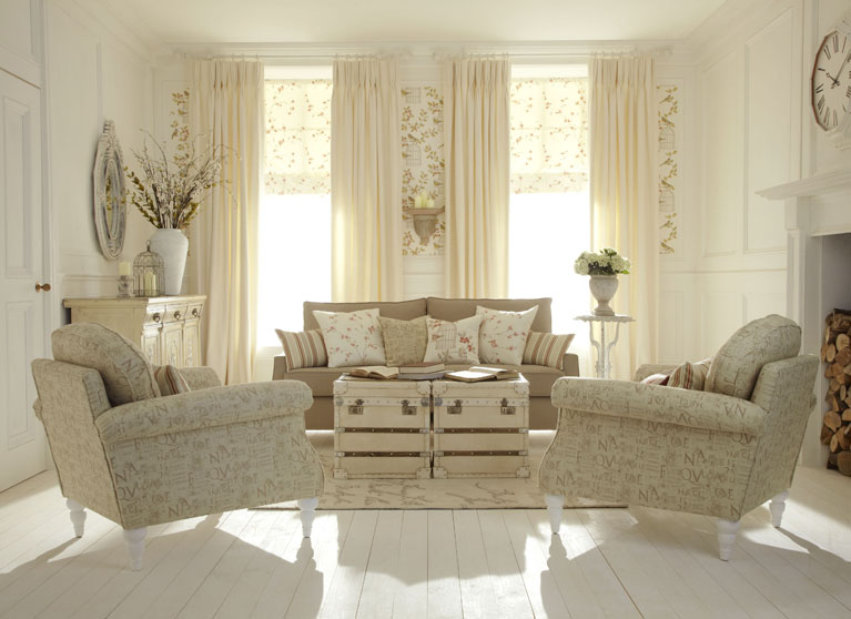 Shabby Chic - Made to Measure Curtains